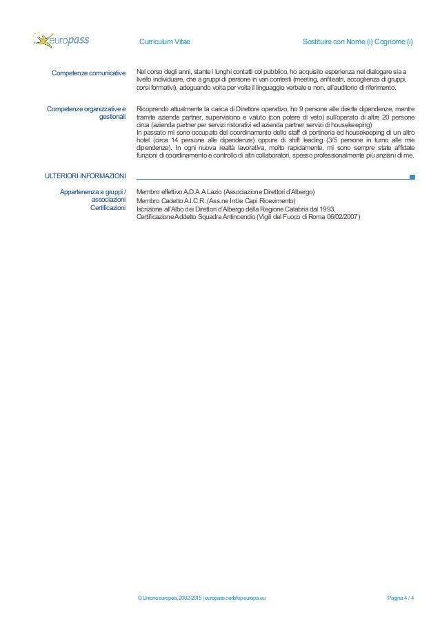 europass cv donato formica - ita