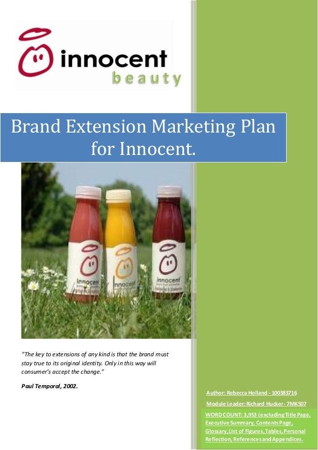 innocent smoothies marketing mix