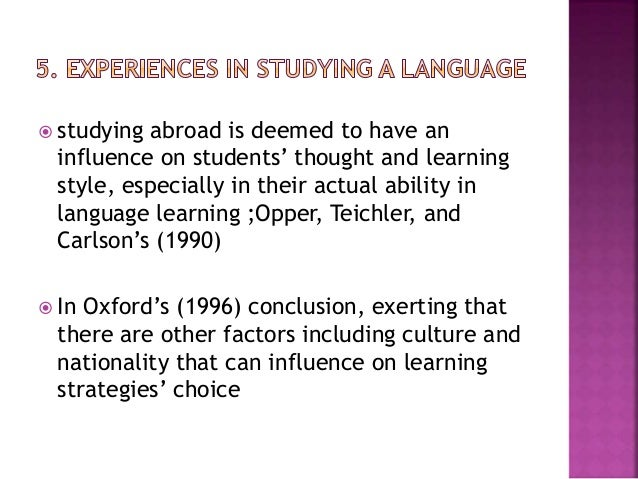the effect of grammar learning on speaking ability of efl learners essay Guidelines for designing effective english language teaching  materials for diverse learners,  particularly those produced for the world-wide efl.