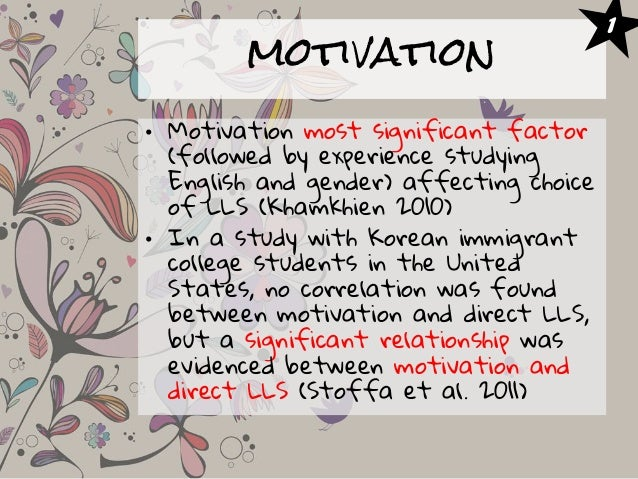 a study of instrumental and integrative A study on students' instrumental motivation for english  learning in chinese universities  dongmei wang  school of foreign studies, yangtze university, jingzhou434023 , china.