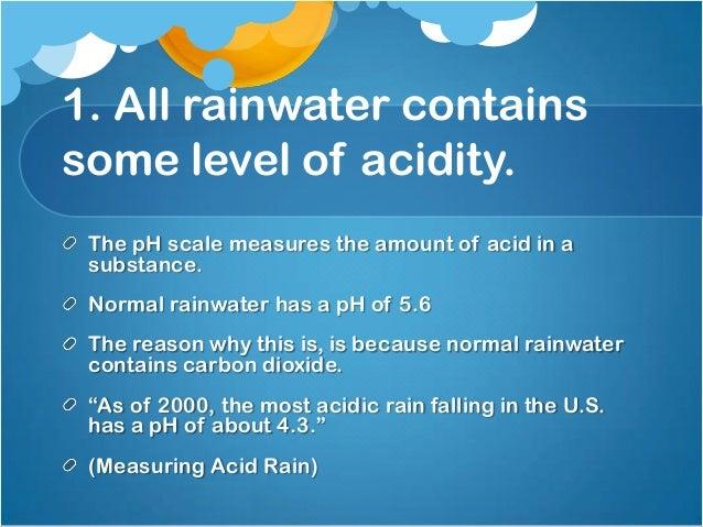 5 facts about acid rain