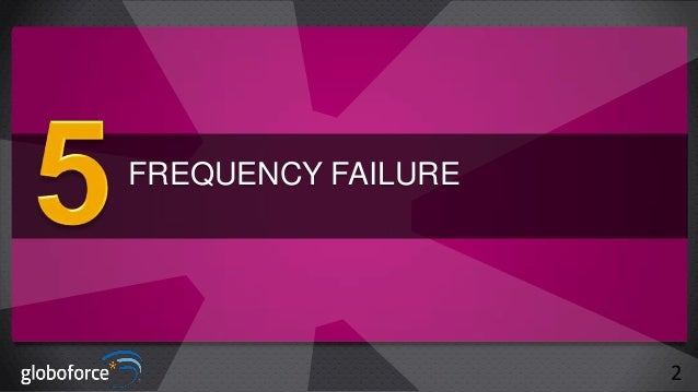 FREQUENCY FAILURE  2