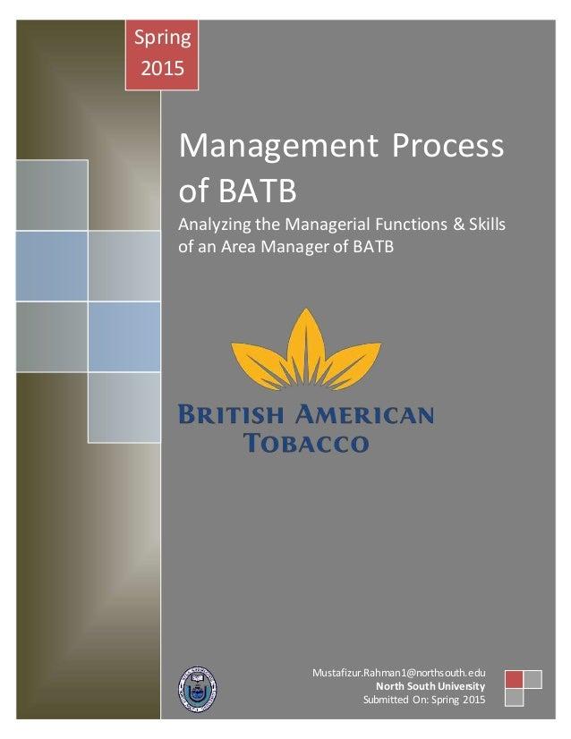 strategic change management of british american tobacco 138 reviews from british american tobacco employees  unfortunately frequent change of management was affecting working environment  strategic account.