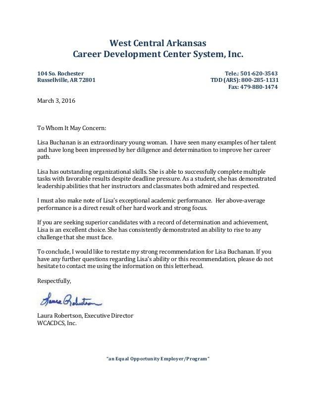 West Central Arkansas Career Development Center System, Inc. 104 So. Rochester Tele.: 501-620-3543 Russellville, AR 72801 ...