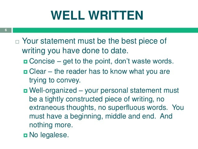 tips on writing the best personal statement Tips on writing the uc personal statement what is the personal statement the personal statement is more than just a mandatory part of your uc application.