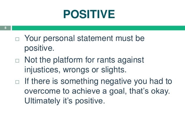 english language quotes for personal statement How to write a personal statement for english  think of your personal statement as a very  and don't use up your word count with pretentious quotes, he.