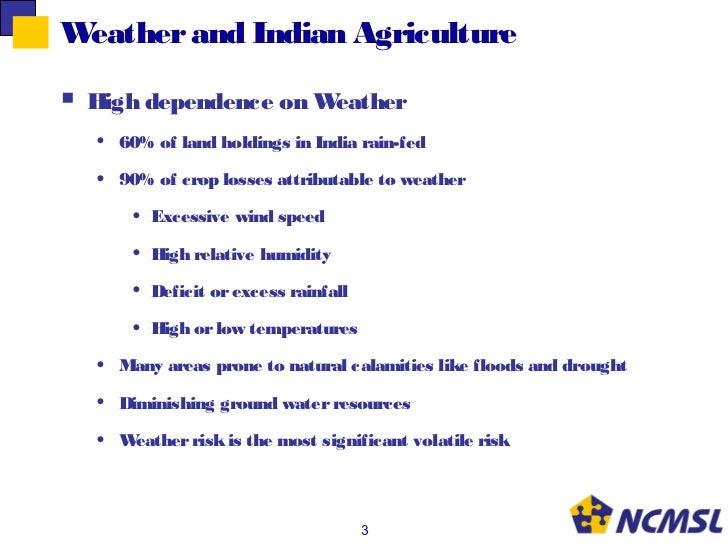 5 Feb 2011 Sanjay Kaul NCSML Agri Insurance Slide 3