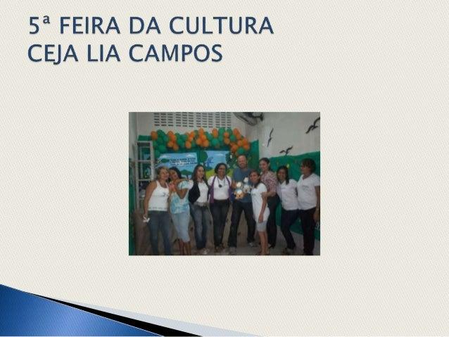 5ª feira da cultura