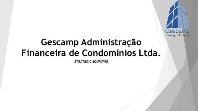 Gescamp Administração Financeira de Condomínios Ltda.