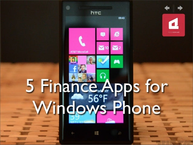 5 Finance Apps for Windows Phone
