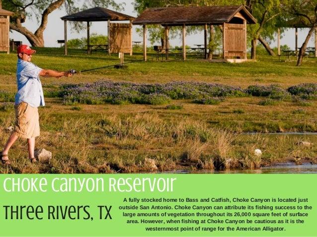 Stephen geri 5 of the best fishing spots in texas for San antonio fishing spots