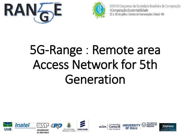 5G-Range Project