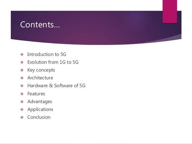 5 G Wireless Technology Slide 2