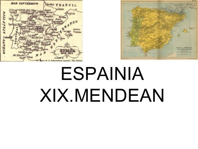 ESPAINIA XIX.MENDEAN