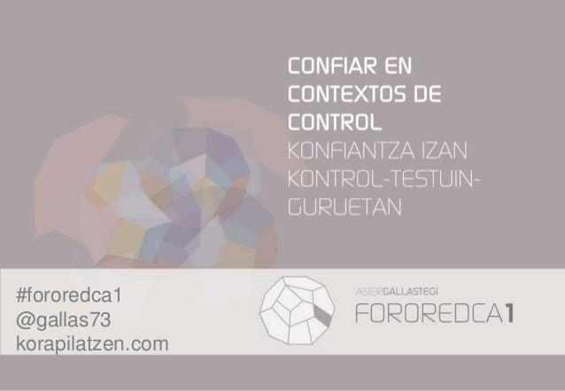#fororedca1 @gallas73 korapilatzen.com