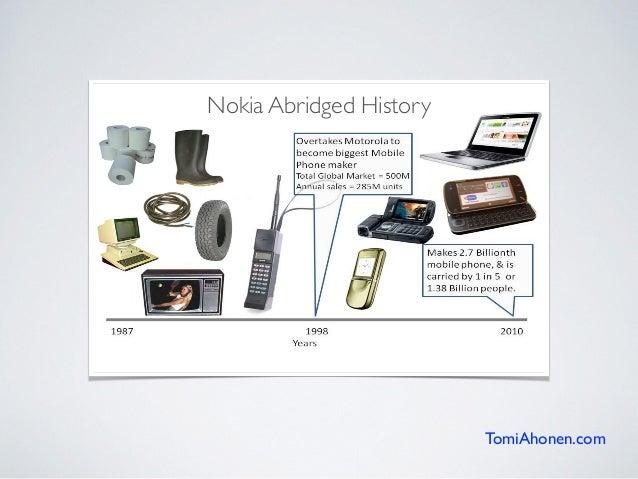 Nokia Abridged History TomiAhonen.com