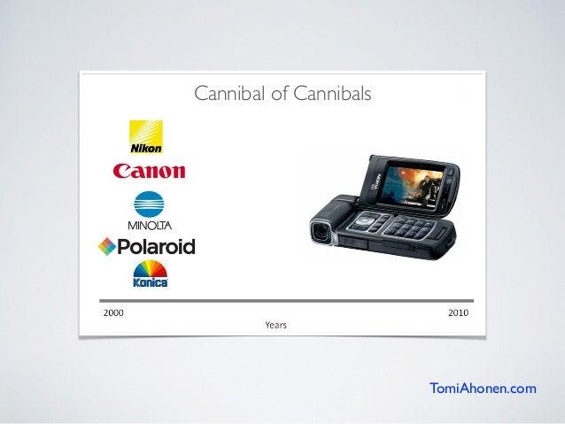 TomiAhonen.com Cannibal of Cannibals