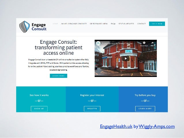 EngageHealth.uk by Wiggly-Amps.com