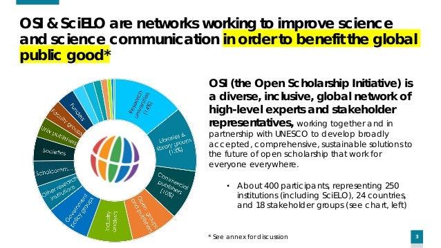 Glenn Hampson - OSI's global, multi-stakeholder perspective on the global future of scholarly communication Slide 3