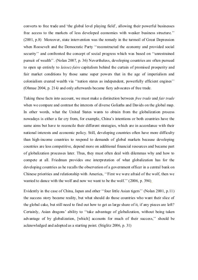 globalization essay the role of state the university of cambridge   4 converts