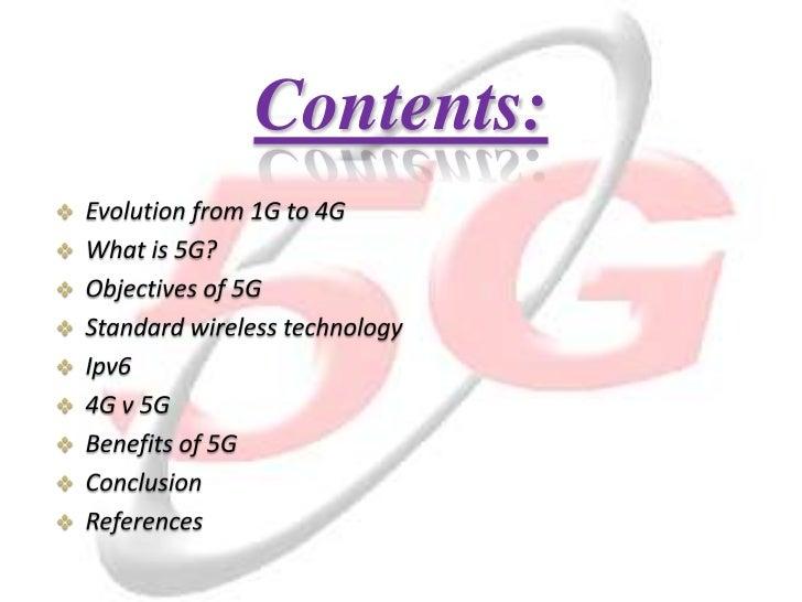 5G Mobile Technology Slide 3