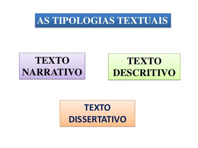 Quais são os tipos de dissertação