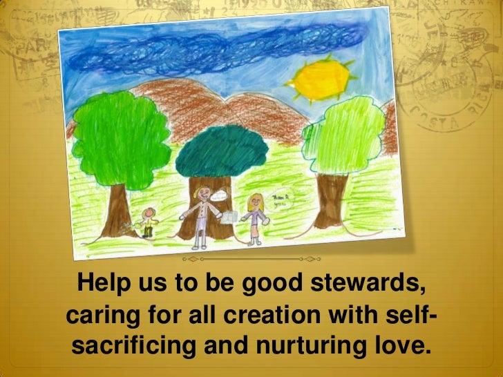 5 gold prayer service stewardship 2012