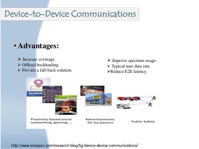 • Advantages:  Increase coverage.  Offload backhauling.  Provide a fall-back solution.  Improve spectrum usage.  Typi...