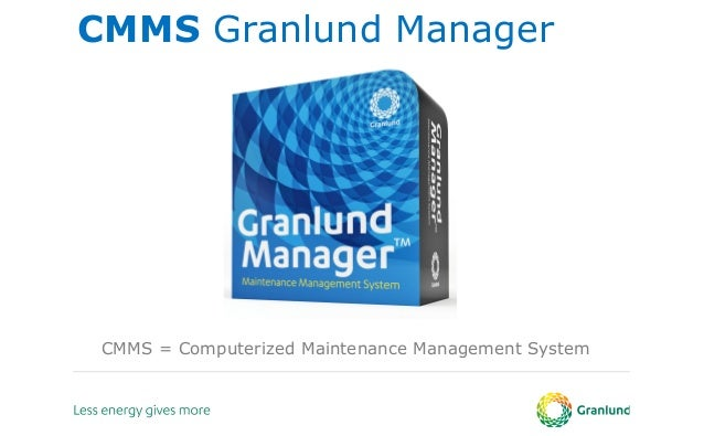 5 Simplycity Granlund Manager Cmms Computerized