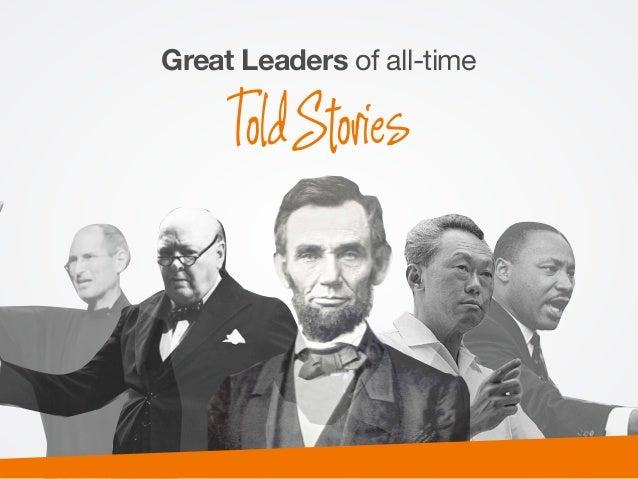 Great Leaders of all-time   ToldStories