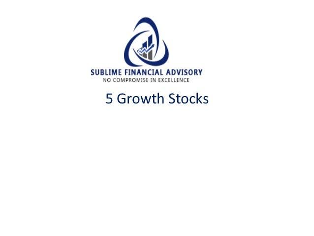 5 Growth Stocks