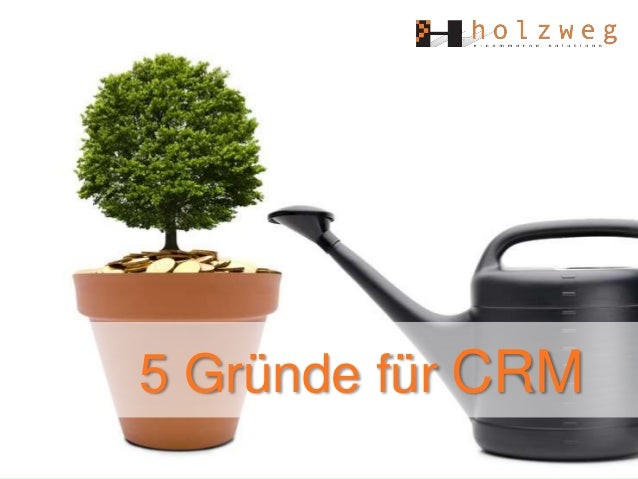5 Gründe für CRM