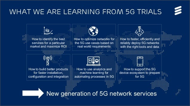 5G Services Story