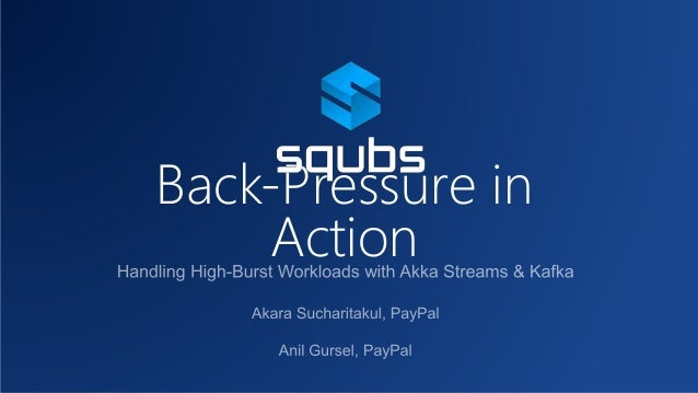 Back-Pressure in Action
