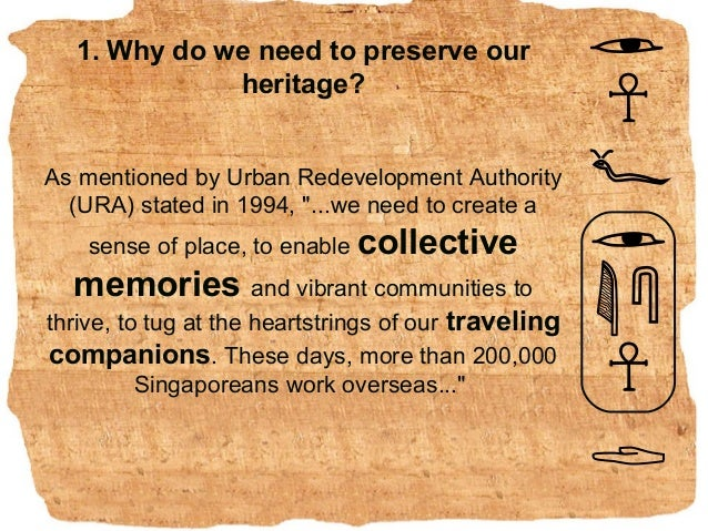 5 reasons we should care about heritage preservation