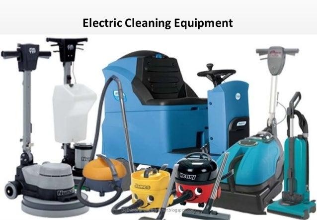 Housekeeping Dept 5 Housekeeping Equipment