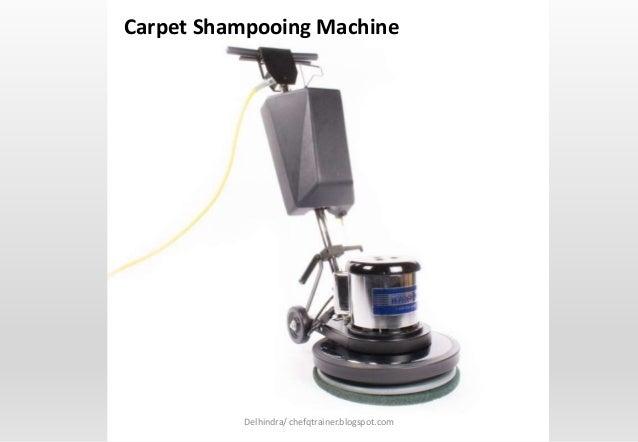 Housekeeping Dept 5- Housekeeping Equipment