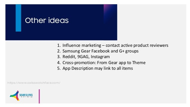 How to Market Your Gear Apps and Themes