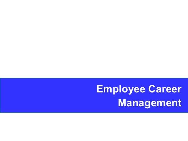 1 Employee Career Management