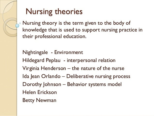 theory of helen erickson Introduction the theory of health as expanding consciousness stems from rogers' theory of unitary human beings the theory of health as expanding consciousness was stimulated by concern for those for whom health as the absence of disease or disability is not possible, (newman, 2010.