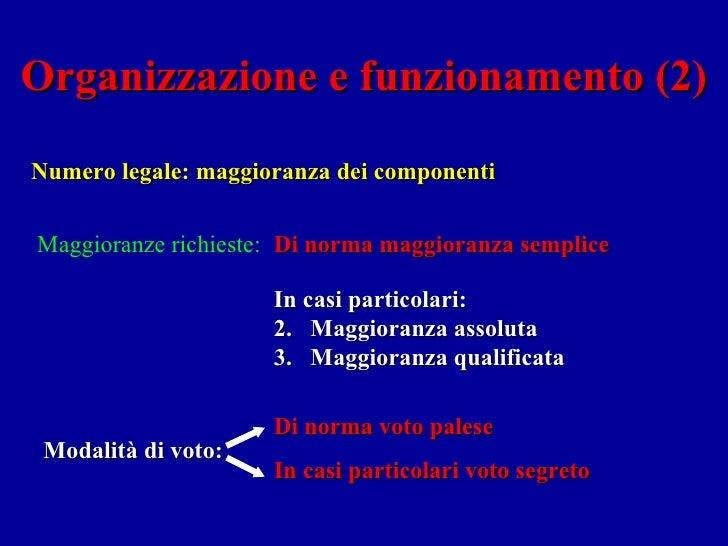 il sistema legislativo italiano