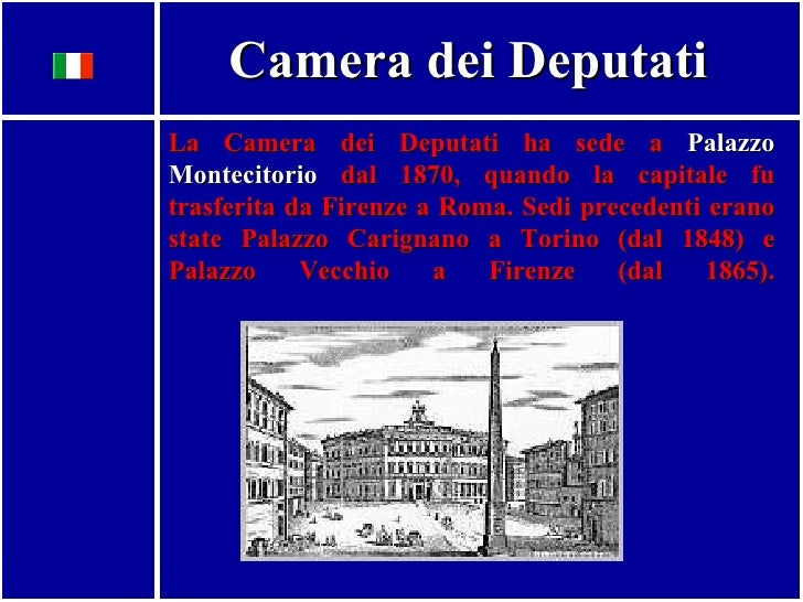 Il sistema legislativo italiano for Sistema elettorale camera dei deputati