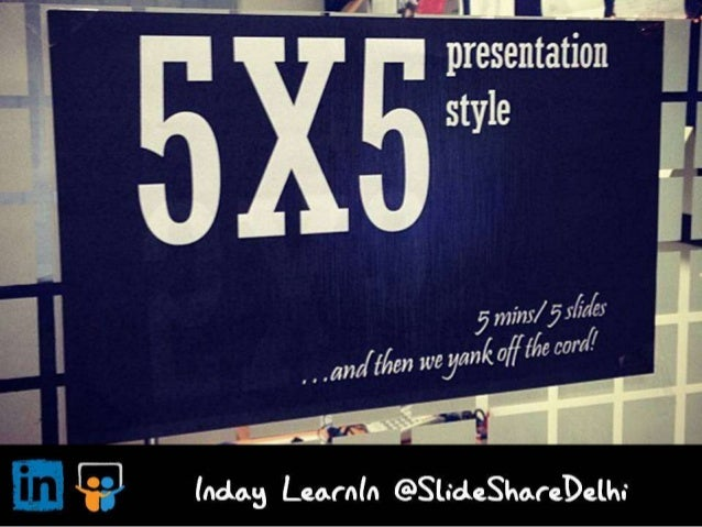 Inday LearnIn: What can SlideShare learn from other organisations?