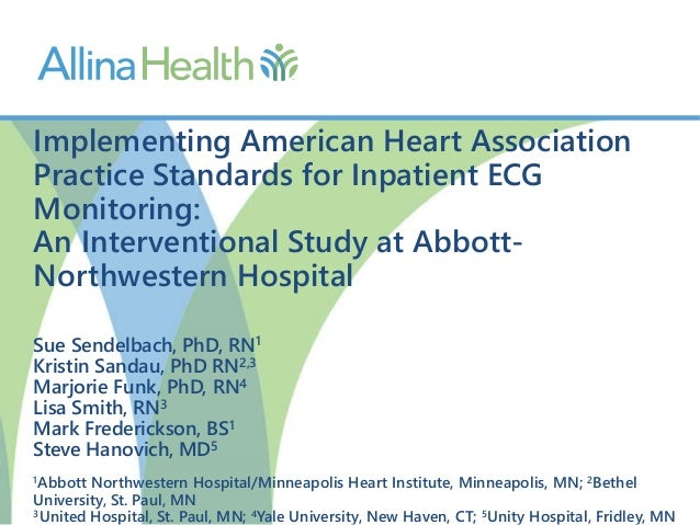 Implementing American Heart Association Practice Standards