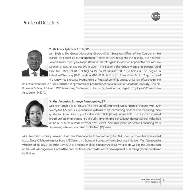 Uacn Property Development Company Annual Report
