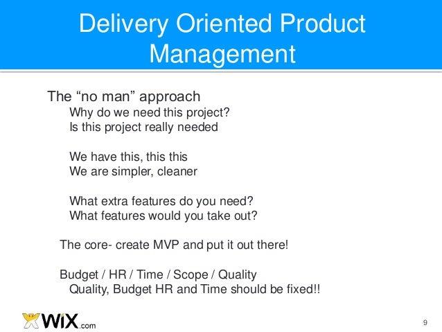 David Schwartz Delivery Oriented Product Management