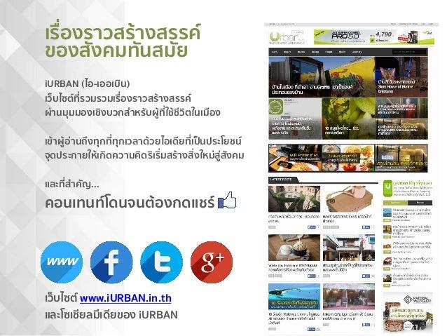 12 เหตุผลทำไมนัก PR ชอบ iURBAN.in.th และ Advertising Ratecard Slide 2