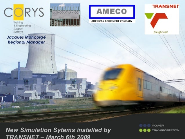 New Simulation Sytems installed by Jacques Moncorgé Regional Manager