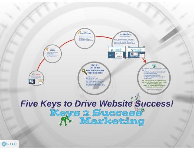 5 Keys to Drive Website Success