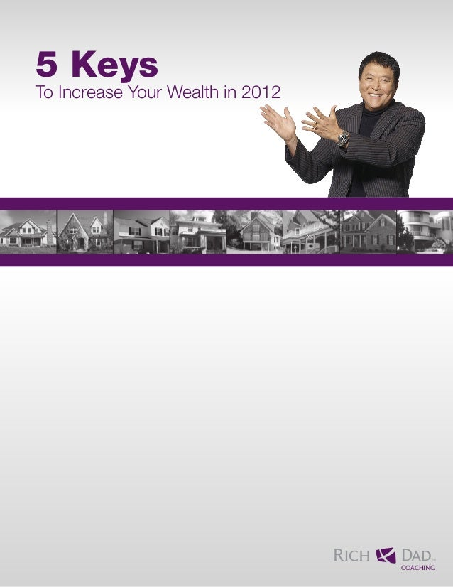 5 Keys To Increase Your Wealth in 2012 COACHING